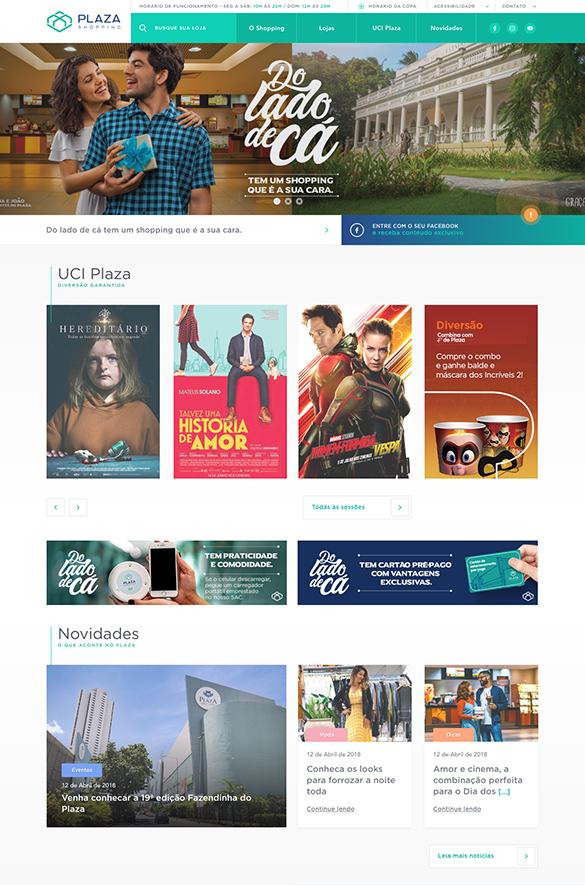 Novo site criado com foco na boa experiência e usabilidade